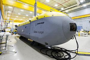 Robotická ponorka Echo Voyager.