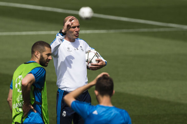 Real Madrid sa pripravuje na finále Ligy majstrov.
