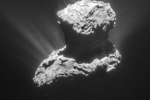 Kométa 67P/Churyumov-Gerasimenko.