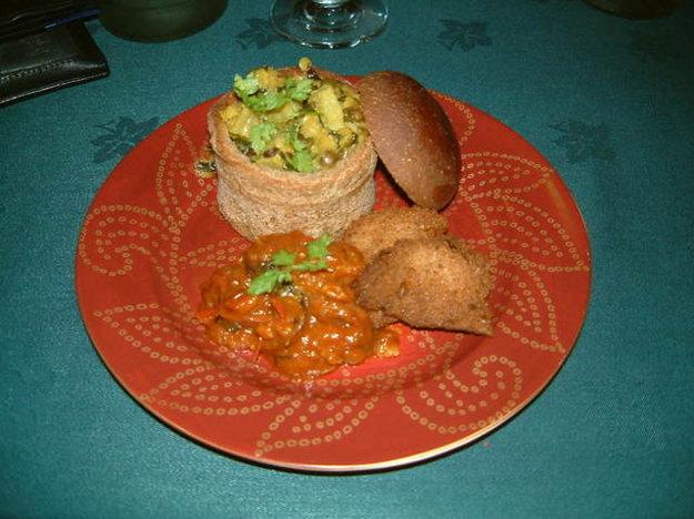 Bunny chow je africký variant fast food v Juhoafrickej republike.