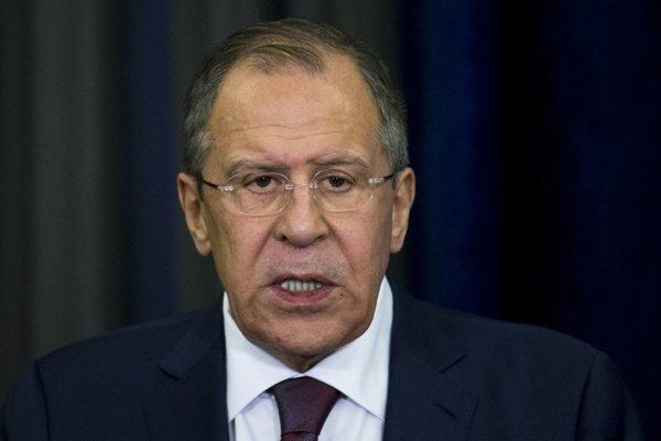 Šéf ruskej diplomacie Sergej Lavrov.