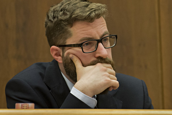 Na snímke poslanec NR SR Martin Poliačik.