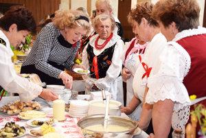 Bzinčania - čestní hostia na kulinárskej súťaži.