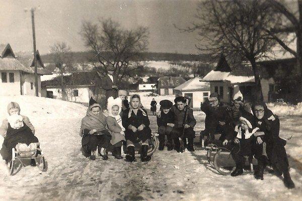 Sánkovačka v Čankove.