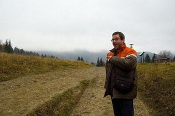 Kanaďan Daniel žije na Slovensku sedem rokov. Momentálne býva v Leviciach.