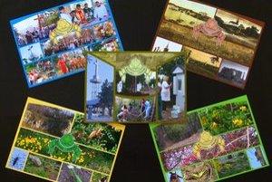 Pohľadnice vyšli v náklade 2500 kusov.