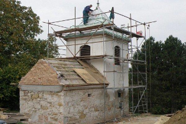 Zvonica v Kunove.