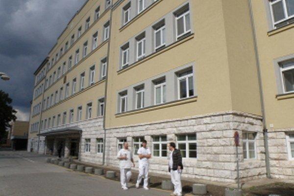Hlavná budova nemocnice v Skalici.