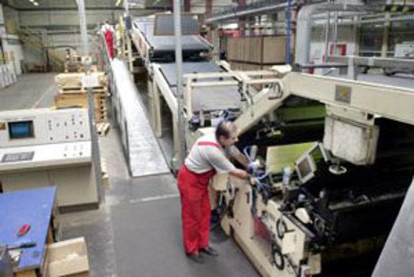 V Grafobale spustia novú linku na výrobu lepenky.
