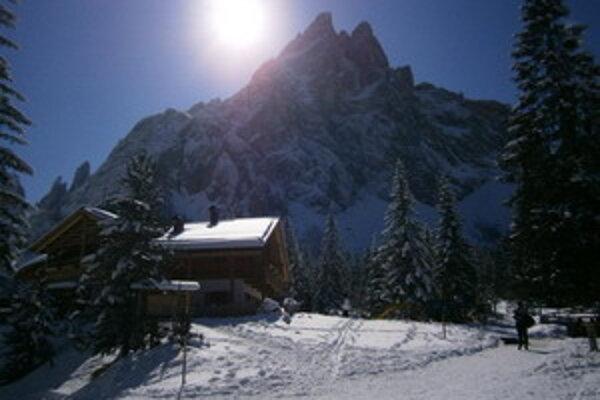 Talianske Dolomity.