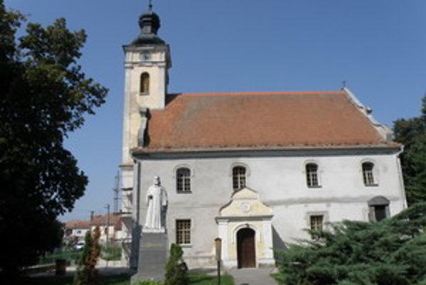 Evanjelický kostol v Hlbokom.