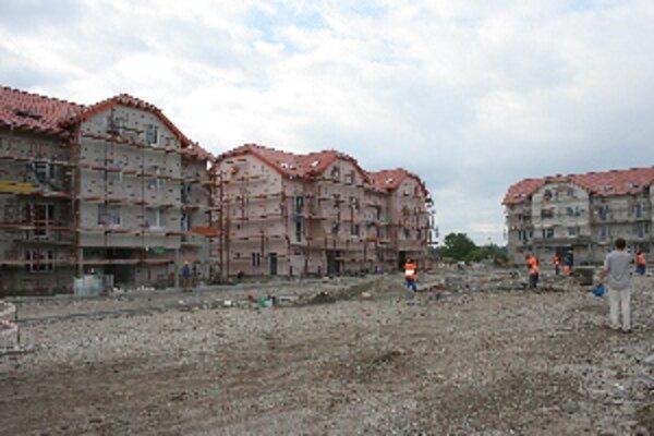 Byty na ulici Pri Maline v Malackách.