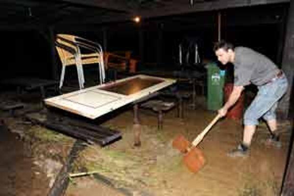Myjavsko a Záhorie vlani postihli záplavy v marci.
