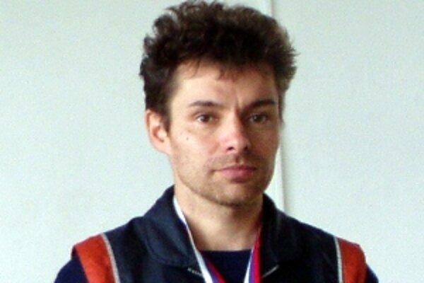 Ján Moravec z Grafobalu Skalica, víťaz maratónu Perly Karpát.
