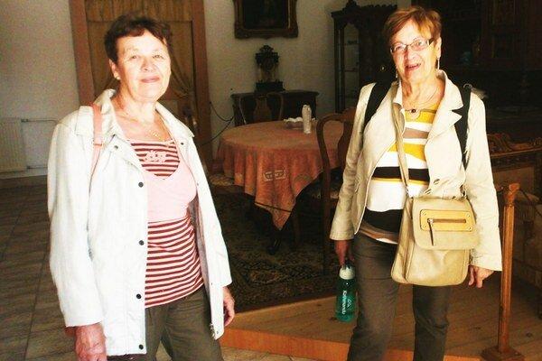 Zľava pani Elena a Margita.