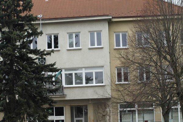 Budova mestského úradu.