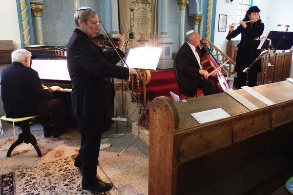 Koncert v synagóge.