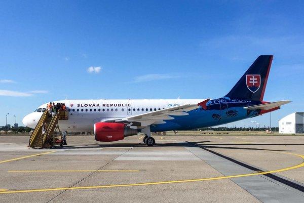 Nový letecký vládny špeciál Airbus A319-115 CJ.