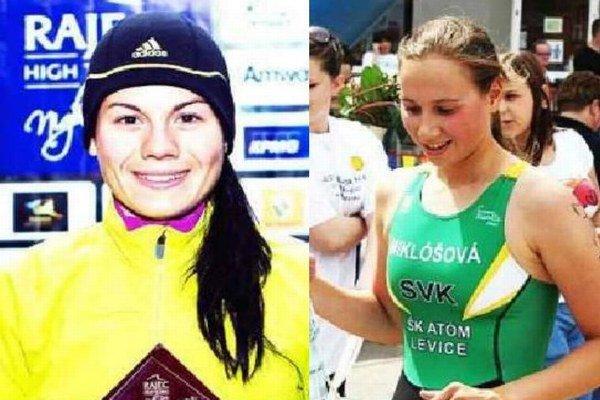 Dve z favoritiek: L. Janečková a I. MIklóšová.