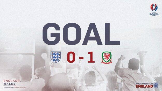 Walesania trafili v prvom polčase do priestoru Hartovej brány len raz, no hneď bol z toho gól.