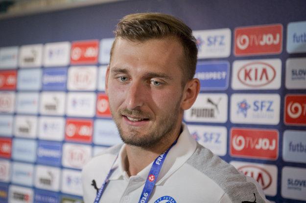 Norbert Gyömbér predstúpil pred novinárov počas mediálneho termínu.
