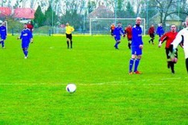 Ilustračné foto zo zápasu Palárikovo - Gabčíkovo (1:0).