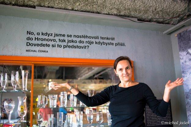 Autorka výstavy Kateřina Sidiropulu Janků.