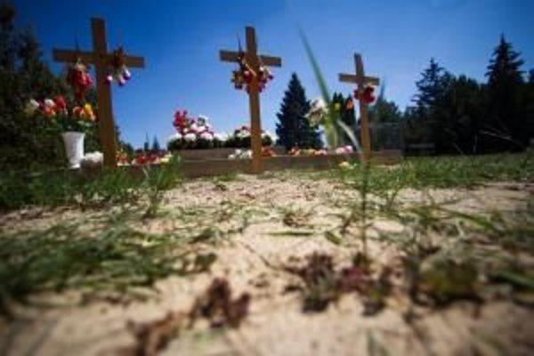 V Hurbanove je zdanlivo pokoj. Pribudli však tri kríže na cintoríne.