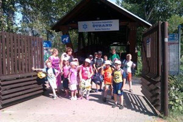 Účastníci tábora sa počas týždňa nenudili.