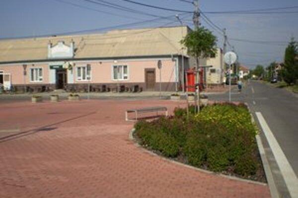 Centrum obce.