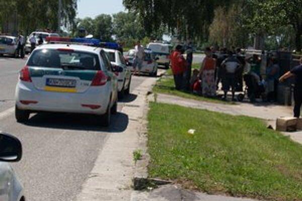 Miesto tragédie polícia uzavrela.