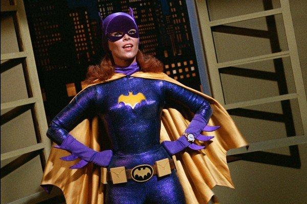 Yvonne Craigová stvárnila prvú Batgirl.