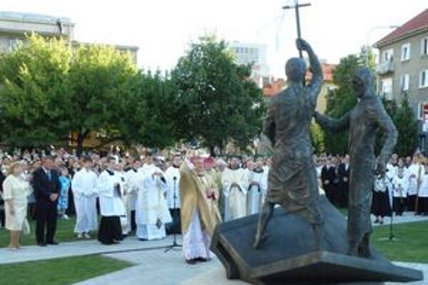 Súsošie posvätil nitriansky diecézny biskup Viliam Judák.