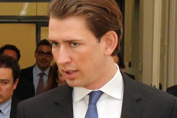 Rakúsky minister zahraničných vecí Sebastian Kurz.