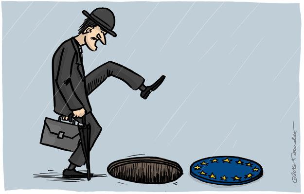 Brexit - alebo ministerstvo švihnutej chôdze (Mandor)