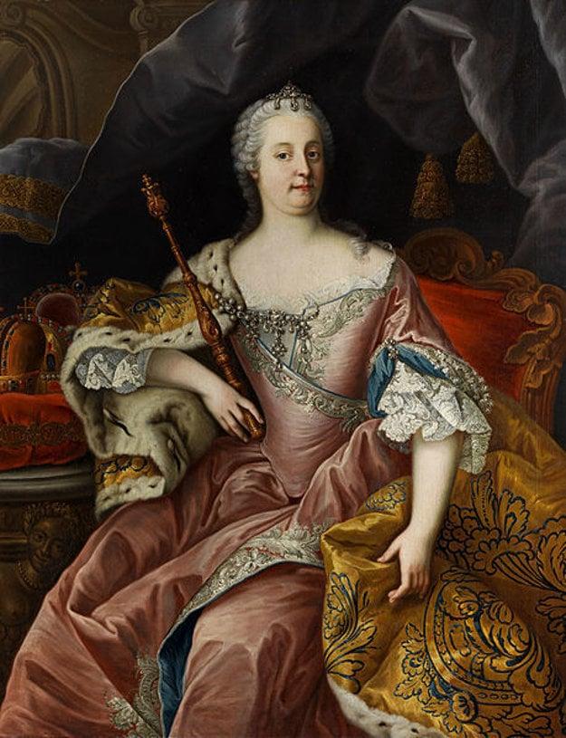 Portrét Márie Terézie od maliara Martina van Meytensa.