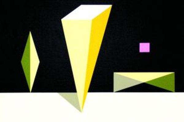 Dielo klasika geometrického umenia Imreho Baka.
