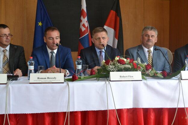 Výjazdové rokovanie vlády v Rimavskej Sobote.
