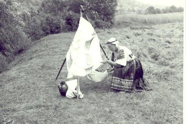 Žena z Podkoníc - prvá polovica 20. storočia