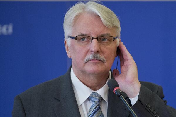 Minister zahraničných vecí Poľskej republiky Witold Waszczykowski.