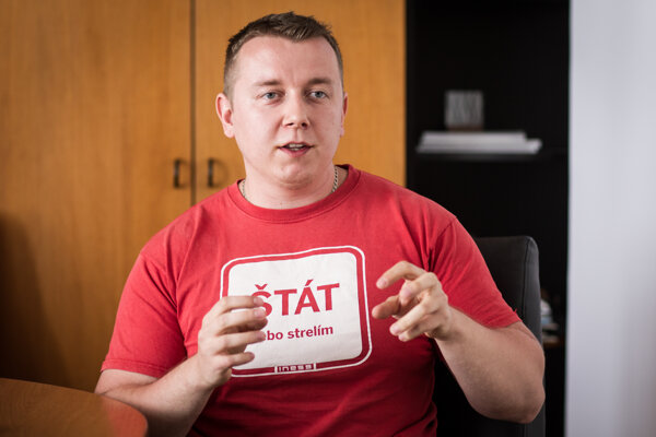Róbert Chovanculiak v rozhovore pre SME.