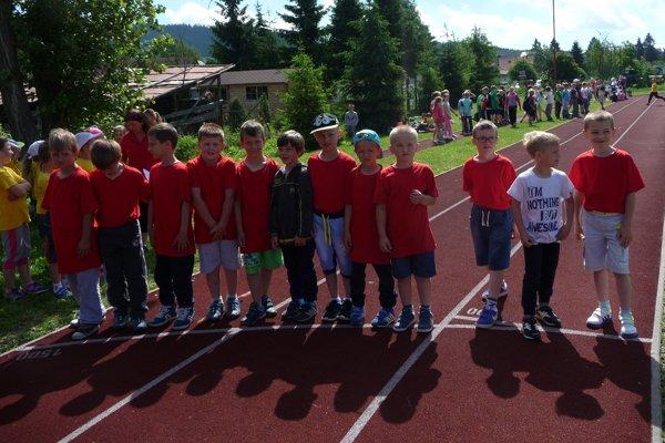 V Základnej škole v Rabči to žilo atletikou.