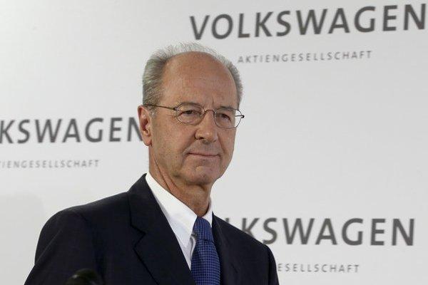 Nový šéf dozornej rady Hans Dieter Pötsch.