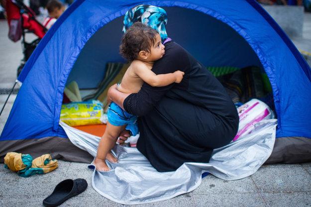 Utečenecký tábor v Budapešti