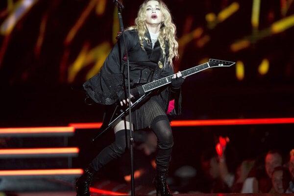 Americká speváčka Madonna.