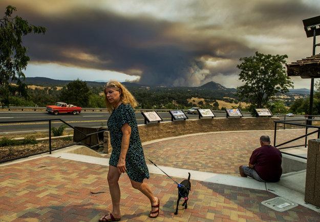 Požiare v Kalifornii, Spojené štáty