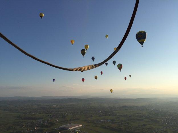 Let balónom je vraj zážitkom na celý život.