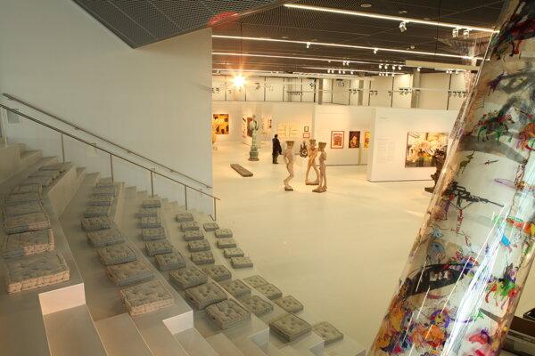 Diela z Galeárie Jána Koniarka vystavujú v Eisenstadte