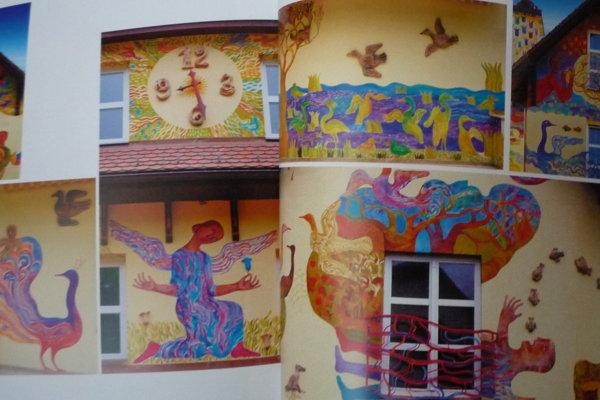 Nástenné maľby D. Krajčovej