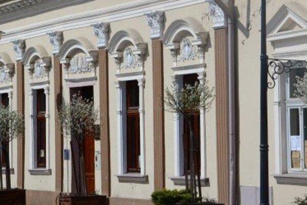 Mestské vlastivedné múzeum.